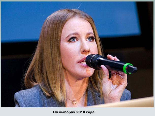 Ксения Собчак - кандидат в президенты