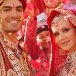 На съемках клипа в Индии