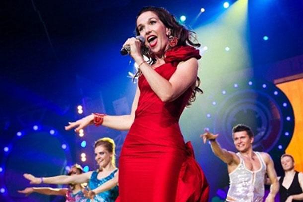 Наталья Орейро на сцене