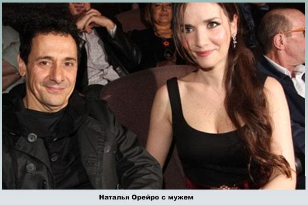 Наталья Орейро и Рикардо Мольо