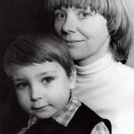 Наталья Орлова с сыном