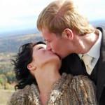 Поцелуй с женой