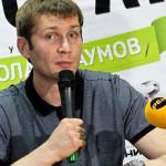 Николай Наумов дает интервью