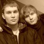 С братом Дмитрием