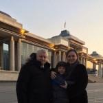 Ольга Радиевская с мужем и сыном