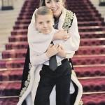Ольга Радиевская с сыном