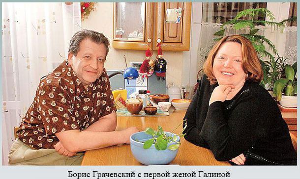 Грачевский с первой женой Галиной