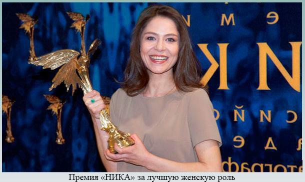 Премия Ника за лучшую женскую роль