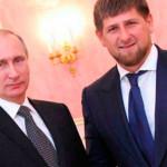 Рамзан с Владимиром Путиным