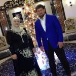 Рамзан с женой встречают новый год