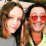 С дочкой Евой