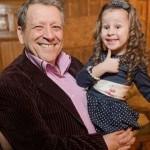 С дочерью Василисой