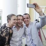 С Игорем Верником и Марией Мироновой