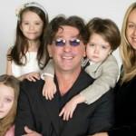 С женой и детьми от второго брака