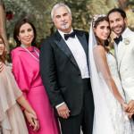 На свадьбе дочери