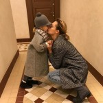 Трогательные отношения Марии с дочкой