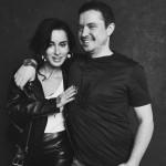 Василий Бровко с женой