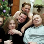 Влад Галкин с семьей
