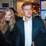 Владимир Яглыч с супругой