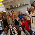 Юлия Проскурякова отметила день рождения в кругу звездных друзей