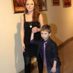 Альбина с младшим сыном - Лукой