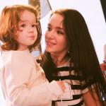 Татьяна Мацкевич с дочкой