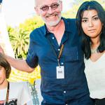 """Гордон с женой и сыном на """"Кинотавре 2018"""""""