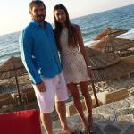 Овечкин с женой на отдыхе