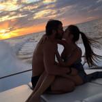 Романтическией вечер на катере