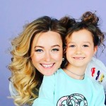 Анастасия Панина с дочкой