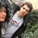 Анна Кастерова с мужем
