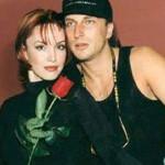 Анна с Дмитрием Нагиевым