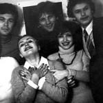 Анна с однокурсниками (1978 г.)