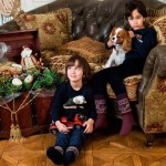 Дети Иванова и Мгоян