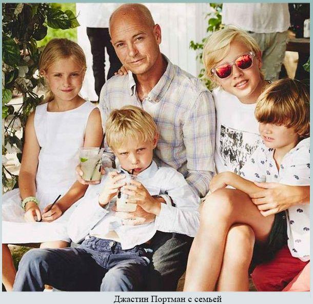 Модель с младшим сыном и семьей