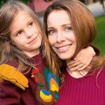 С дочерью Анной