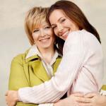 Екатерина с мамой