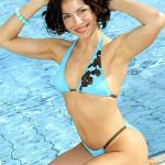 Екатерина Гусева в купальнике
