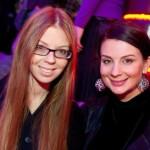 Екатерина Стриженова с дочкой Анастасией