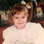 Детское фото Лены из семейного архива