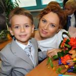 С сыном в школе