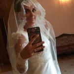 Селфи в свадебном платье