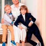 Евгения Ахременко с сыновьями