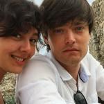 Марина и Аркадий на отдыхе в Европе