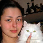 Марина Кравец в юности