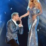 На сцене с Николаем Басковым