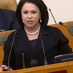 Надежда Бабкина с 2001 года – член партии «Единая Россия»