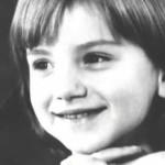 Ольга Будива в детстве