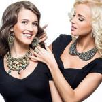 Ольга с сестрой Анной