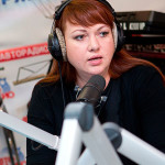 Выступление на радио
